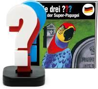 Tonies Die drei ??? 'Der Super-Papagei Limited', Hörfigur mit ca. 50 Minuten Spielzeit, ab 8 Jahren, erste Hörspiel-Folge der drei ??? in limitierter Verpackung