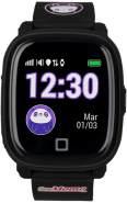 SoyMomo H2O Kinder-Smartwatch GPS, Einheitsgröße, Silikonarmband, Schwarz