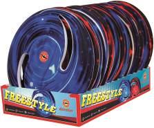 Freestyle Wurfscheibe - 1 Stück, zufällige Farbauswahl