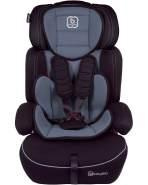 BabyGo 'Freemove' Autokindersitz in Grau, 9 bis 36 kg (Gruppe 1/2/3), umbaubar zur Sitzerhöhung