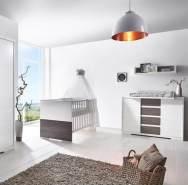 Schardt 'Maxx Fleetwood' 2-tlg. Babyzimmer-Set inkl. Kinderbett und Wickelkommode
