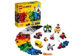 LEGO® Classic 11014 'Steinebox mit Rädern', 653 Teile, ab 4 Jahren