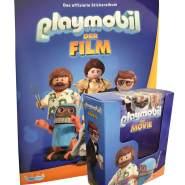 Playmobil - Der Film 2019 - Sammelsticker - Komplettsatz + Album