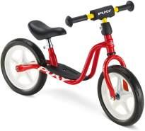 PUKY 4021 'LR 1' Laufrad, für Kinder ab 90 cm Körpergröße, bis 25 kg belastbar, ab 2 1/2+ Jahren, höhenverstellbar, rot