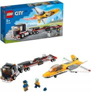 LEGO City 60289 'Flugshow-Jet-Transporter', 281 Teile, ab 5 Jahren