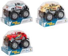 Speedzone Jeep mit Friktion, 4-fach sortiert, 1 Stück - Auswahl erfolgt zufällig