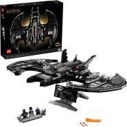 LEGO DC Super Heroes Batman 76161 '1989 Batwing', 2363 Teile, ab 18 Jahren, erwecke den Kultfilm von 1989 zum Leben, inkl. drei Minifiguren und Zubehör