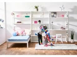 HOPPEKIDS Storey Regal Set mit Schreibtisch und Einzelbbett 70 x 160 cm