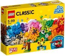 LEGO Classic 10712 'Bausteine-Set - Zahnräder', 244 Teile, ab 5 Jahren, bunte Bausteine