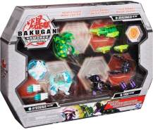 Spin Master Bakugan Gear-Up Pack mit 3 exklusiven Armored Alliance Ultra Bakugan