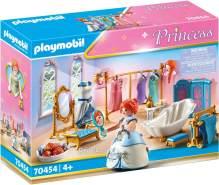 Playmobil Princess 70454 'Ankleidezimmer mit Badewanne', 86 Teile, ab 4 Jahren