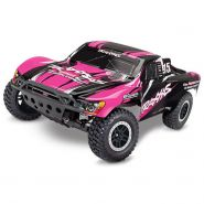 Traxxas RC Short Course Truck Slash pinkX RTR +12V-Lader+Akku
