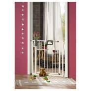 Geuther Tür- und Treppenschutzgitter für Türbreiten 80,5 - 88,5 cm, zum Klemmen, Weiß