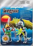 Playmobil Dragons 5465 'Storm Dragon mit Kämpfer', ab 5 Jahren