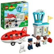 LEGO DUPLO 10961 'Flugzeug und Flughafen', 28 Teile, ab 2 Jahren