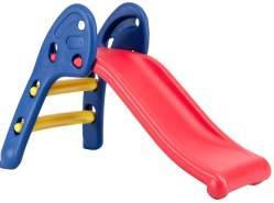 BabyGO 'Slide' Rutsche, ca. 114 x 56 x 70 cm (LxBxH), ab 2 Jahren, bis 30 kg belastbar, blau/rot