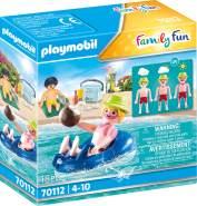Playmobil Family Fun 70112 'Badegast mit Schwimmreifen', 18 Teile, ab 4 Jahren