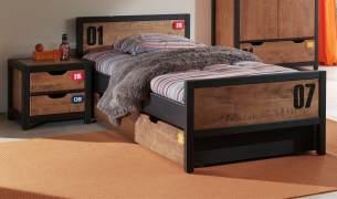 Vipack 'Alex' 2-tlg. Kinderzimmer-Set mit Bettschublade