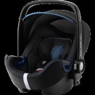 Britax Römer 'Babysafe 2 i-Size Cool FLow' Babyschale 2020 Blue Gruppe 0+, mit Base