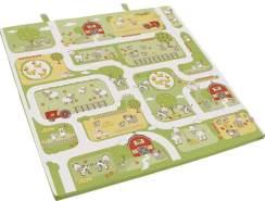 Roba 'Bauernhof' Spiel-& Krabbelmatratze grün