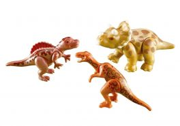 Playmobil Dinos 7368 '3 Baby-Dinos', 3 Teile, ab 4 Jahren