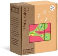Clementoni-16229-Little Cubes-Quante Cose, Mehrfarbig