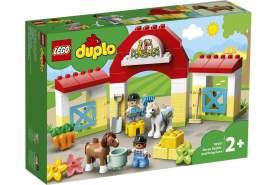 LEGO® DUPLO 10951 'Pferdestall und Ponypflege', 65 Teile, ab 2 Jahren