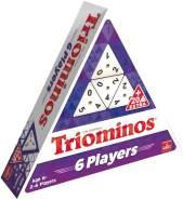 Triominos 6 Players: Spieldauer +/- 20 Minuten, Für 2-6 Spieler