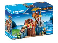 Playmobil History 4433 'Wikingerbastion', 161 Teile, ab 4 Jahren