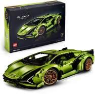 LEGO Technic 42115 'Lamborghini Sián FKP 37', 3696 Teile, ab 18 Jahren, originalgetreues Modell
