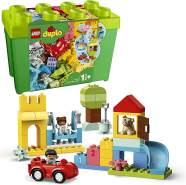 LEGO DUPLO 10914 'Deluxe Steinebox', 85 Teile, ab 18 Monaten, Bauset mit Aufbewahrungsbox, erstes Steine-Lernspielzeug für Kleinkinder