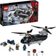 LEGO Marvel Avengers 76162 'Black Widows Hubschrauber-Verfolgungsjagd', 271 Teile, ab 7 Jahren