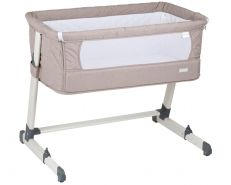 BabyGo Beistellbett 'Together' beige