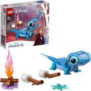 LEGO Disney Die Eiskönigin 2 43186 'Salamander Bruni', 96 Teile, ab 6 Jahren, tolles Bauset mit dem Salamander aus Frozen 2