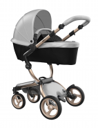 Mima Xari Design Kinderwagen Kollektion 2021 Champagner Argento