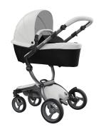 Mima Xari Design Kinderwagen Kollektion 2021 Graphite Grey Schnee Weiss