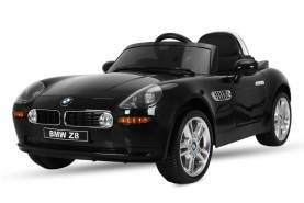 Kidcars Kinder Elektro Auto BMW Z8 2x35W 2X6V(12V) 7Ah 2. 4G RC Schwarz