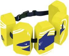 BECO 'Sealife' Schwimmgürtel, gelb, verstellbares Gurtband mit Patentverschluss, für Kinder von 2-6 Jahren und 15-30 kg Körpergewicht