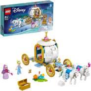 LEGO Disney Princess 43192 'Cinderellas königliche Kutsche', 237 Teile, ab 6 Jahren