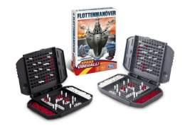 Hasbro Gaming 'Flottenmanöver Kompakt' Strategiespiel, ab 7 Jahren, 2 Spieler, Kompaktversion für unterwegs