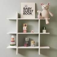 Kids Concept Wandregal Holz weiss