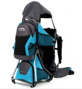 MONTIS HOOVER NEXUS, Premium Rückentrage, Kindertrage, -25kg, Blau