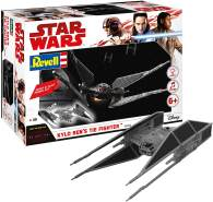 REVELL 06760 - Star Wars Modellbausatz Build & Play - Kylo Rens TIE Fighter 1:70