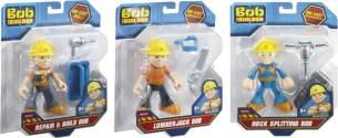 Mattel Bob der Baumeister Kleine Figuren, 1 Stück, zufällige Auswahl