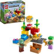 LEGO Minecraft 21164 'Das Korallenriff', 92 Teile, ab 7 Jahren