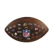 Wilson 'NFL OFFICIAL THROWBACK 32 TEAM LOGO' Football, ca. 29 x 16 x 8 cm