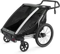 Thule 'Chariot' Fahrradanhänger Set + Thule Babysitz Lite 2