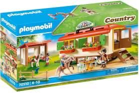 Playmobil Country 70510 'Ponycamp-Übernachtungswagen', 149 Teile, ab 4 Jahren