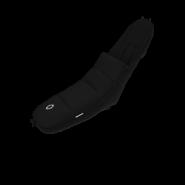 Bugaboo Universal-Fußsack Black, universell einsetzbar