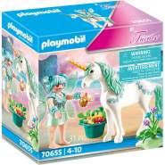 Playmobil Fairies 70655 'Einhorn mit Fütter-Fee', 31 Teile, ab 4 Jahren